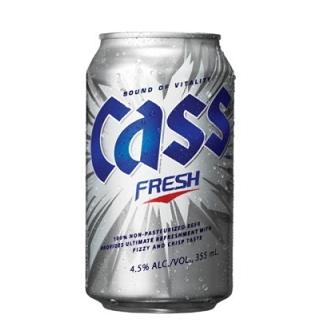 Cass Can Beer