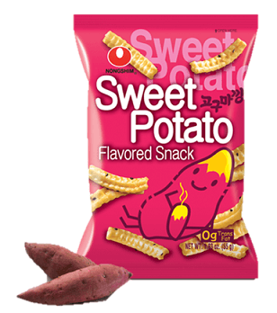 Sweet Potato Flavored Snack 55g