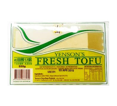 YENSON'S FRESH TOFU 550G