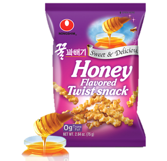 Honey Flavored Twist Snack 75g