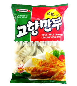 Korean Vegetable Dumpling 1350g