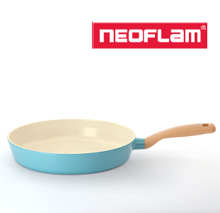NEOFLAM RETRO FRY PAN RETRO MINT COLOR 28CM