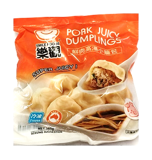 SMILE FOODS PORK JUICY DUMPLING 385G