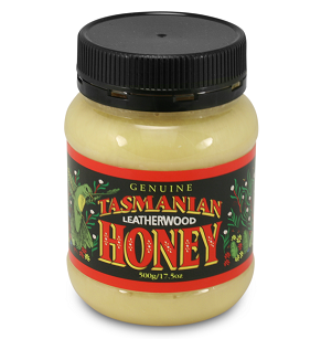 TASMANIAN LEATHERWOOD HONEY 500G